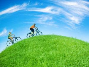 Транспорт с велосипед