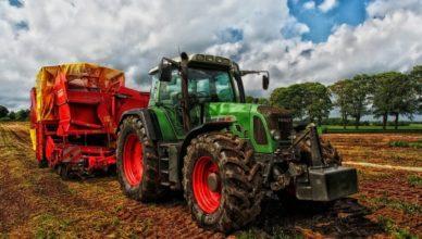 ферма, която използва биодинамично земеделие