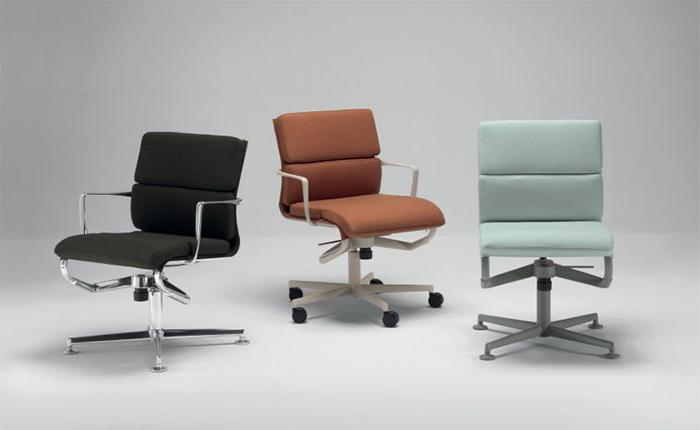 различни модели въртящи се офис столове